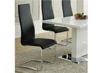 Coaster Black Dining Room Side Chair