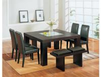 Global Furniture Square Brown Dining Table